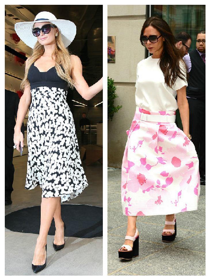 Paris liebt den Style von Victoria Beckham