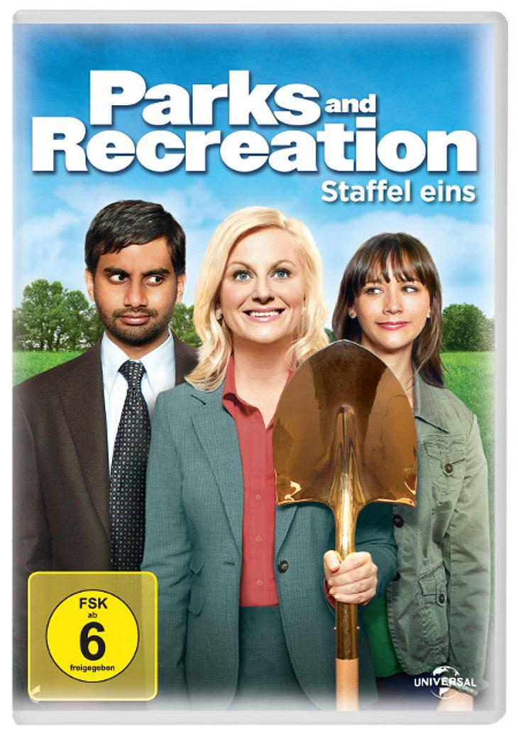 """3. Preis: : Fünfmal die erste Staffel von """"Parks & Recreation"""" auf DVD."""
