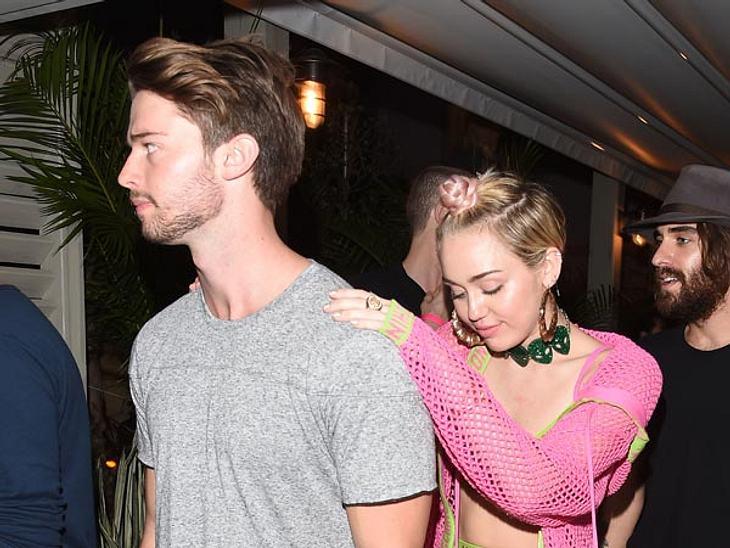 Viele befürchten, Miley würde Patrick auf die Schiefe Bahn lenken