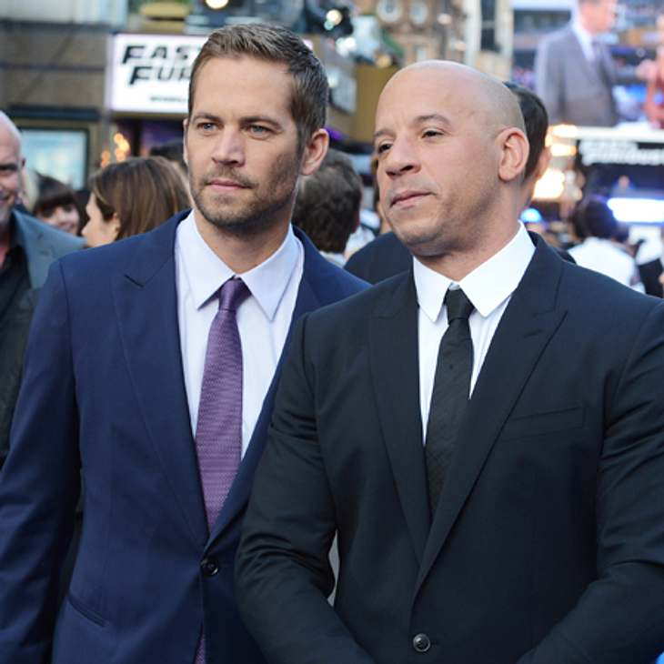 Paul Walker: Vin Diesel hält eine Trauerrede!