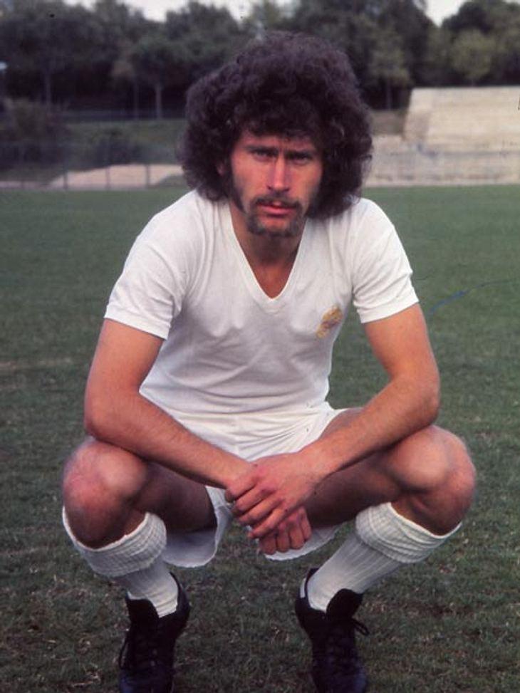 70er Ikone Paul Breitner hatte den Mega-Afro! Heute trägt der ehemalige Nationalspieler die Haare doch lieber kurz