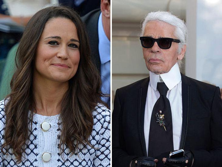 Karl Lagerfeld lobt die Mutter, teilt aber gleichzeitig gegen Pippa Middleton aus.