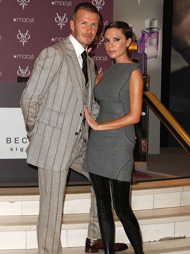 5. David Beckham & Victoria BeckhamTrotz seiner 34 Jahre sind David Kickerbeine immer noch Gold wert. Diverse Werbeverträge spülen zusätzlich Geld in die Familienkasse, die hin und wieder auch von Ehefrau Victoria großzügig gefüttert wi
