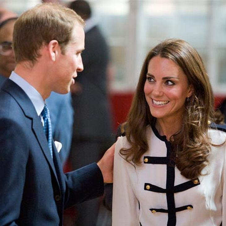 Kate und William sind überglücklich nach der Geburt