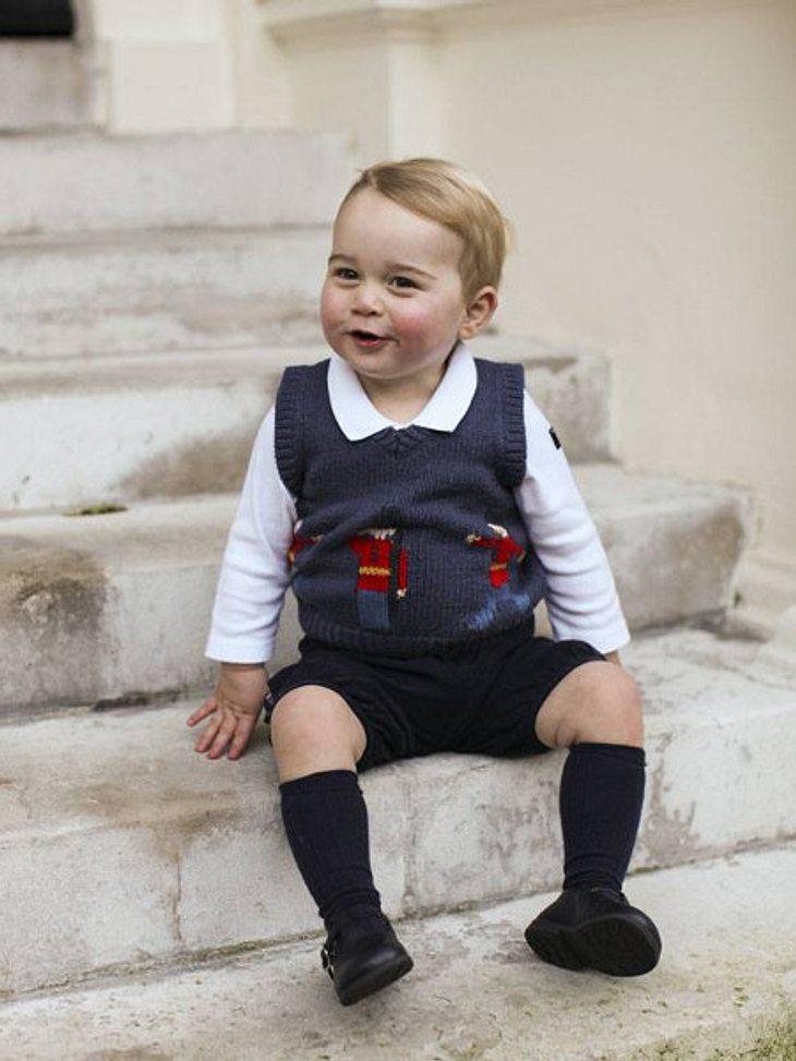 Endlich gibt es neue Bilder von Prinz George