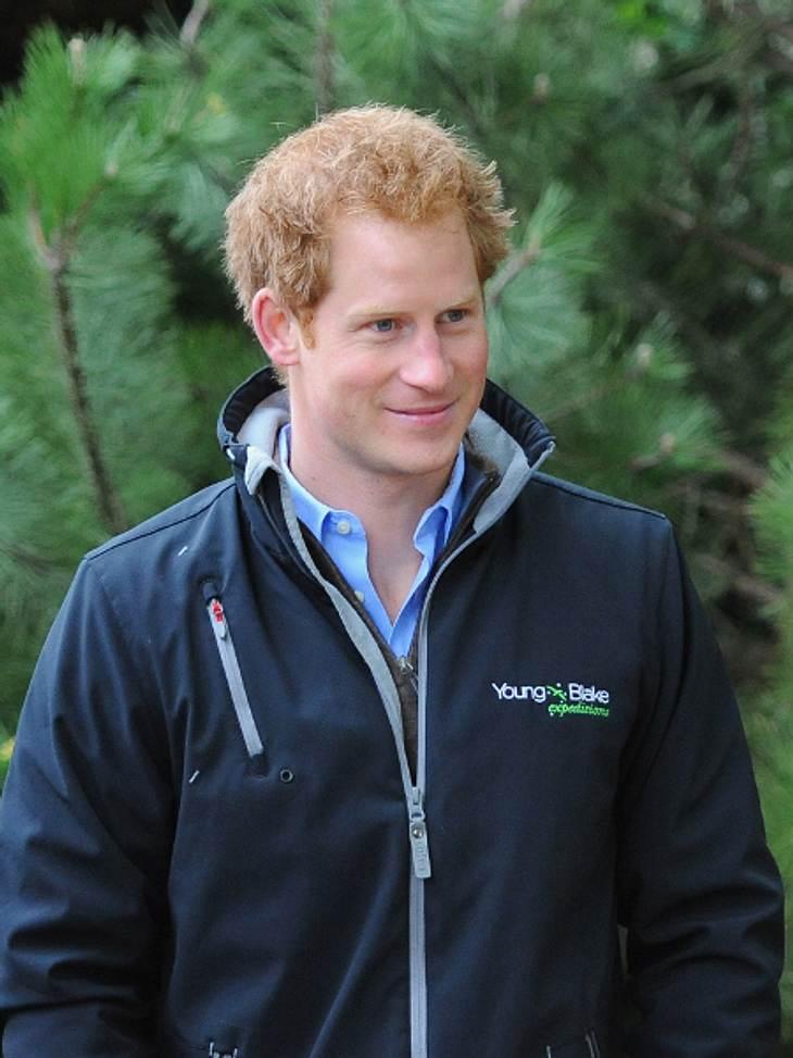Schwänzt Prinz Harry die Taufe von Nichte Charlotte?