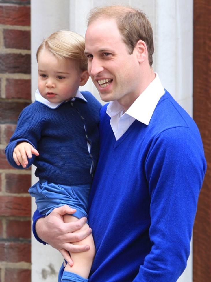 Prinz William freut sich über die Geburt seiner Tochter
