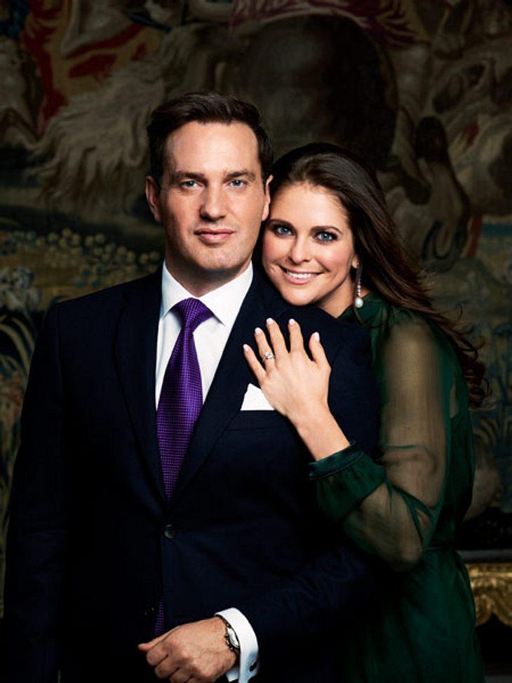 Prinzessin Madeleine und Chris O'Neill werden Eltern