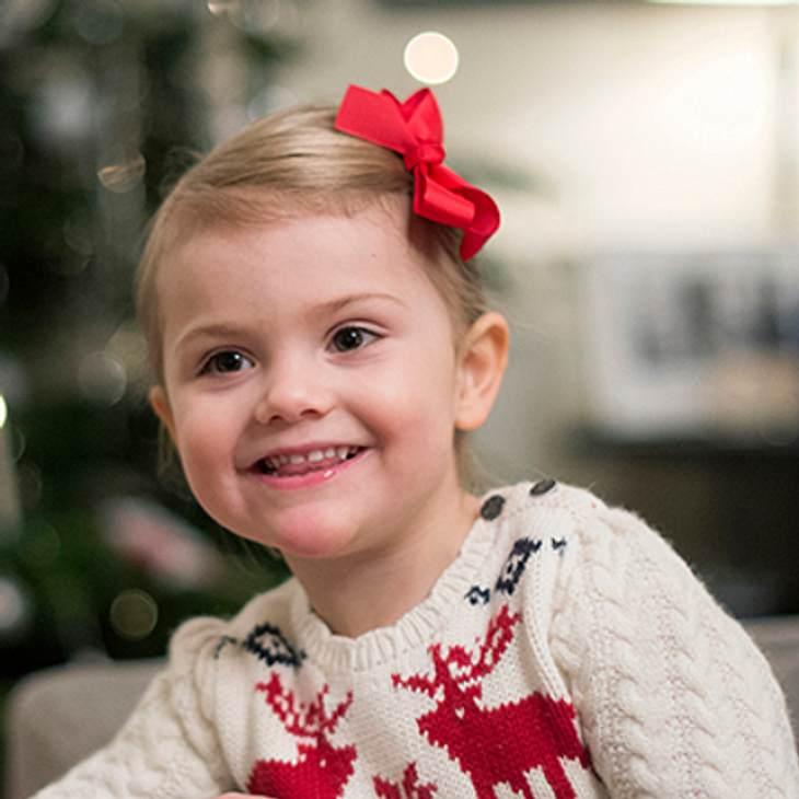 Prinzessin Estelle im Weihnachtsfieber