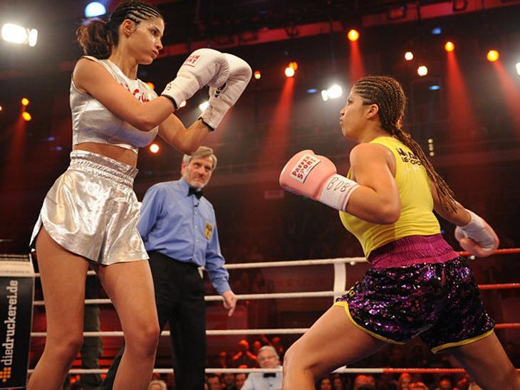 Micaela war gegen Indira chancenlos.