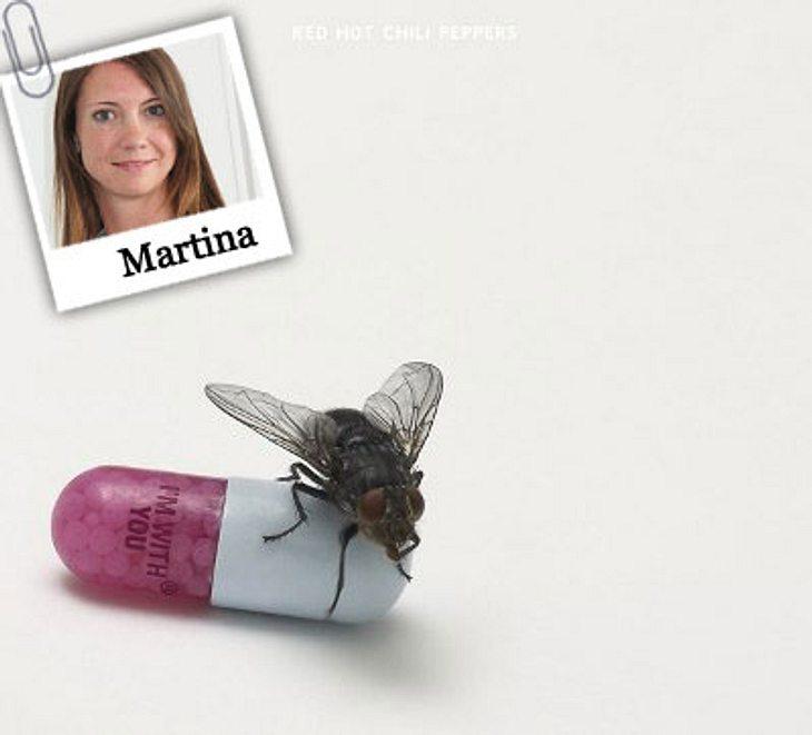 """Das hört die WUNDERWEIB.de-Redaktion im September Martina hört """"I'm With You"""" von den Red Hot Chili Peppers: """"Als die ersten Beats der neuen Single ,The Adventures of Rain Dance Maggie' über meine Kopfhörer schallten wusste i"""