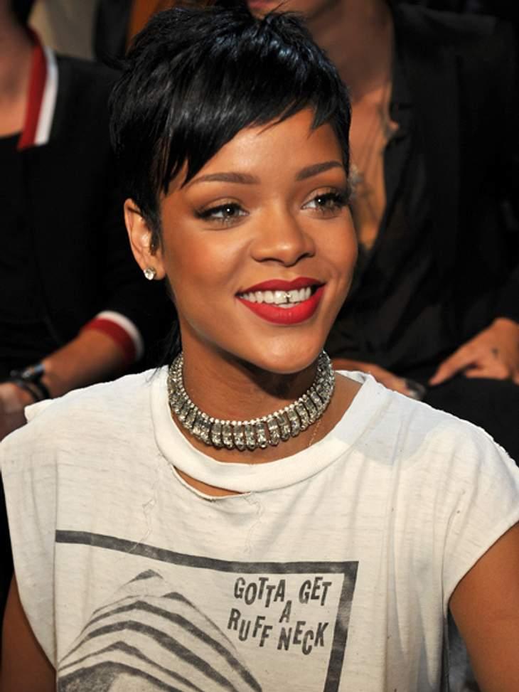 Rihanna: Gute Miene zum bösen Spiel