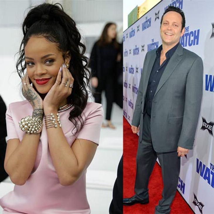Sängerin Rihanna schwärmt von Vince Vaughn