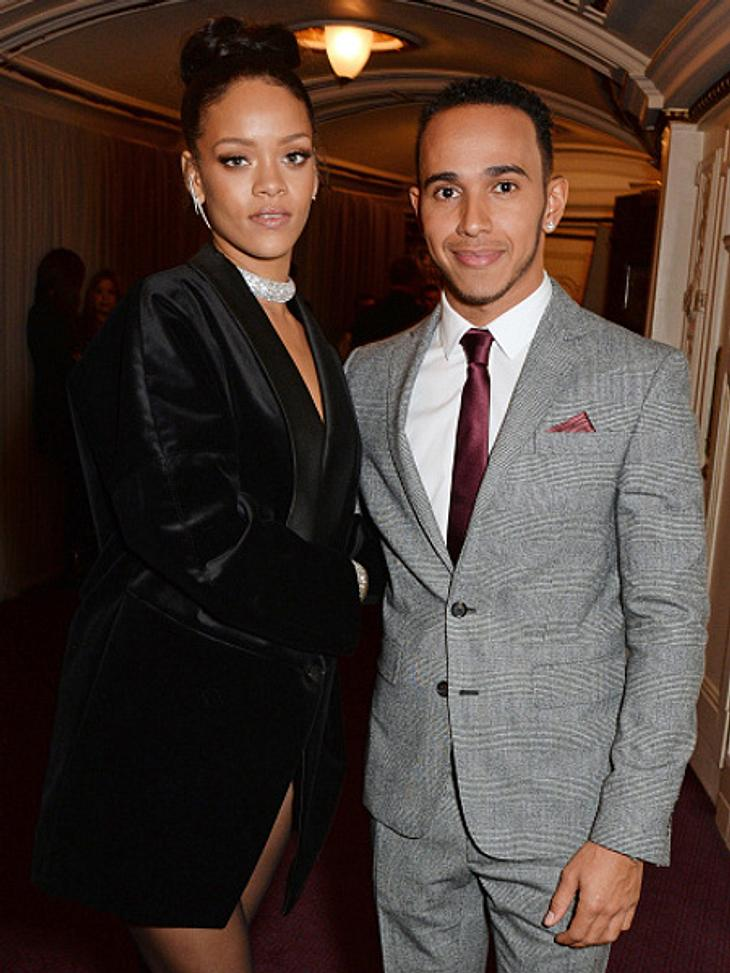 Rihanna und Lewis Hamilton sollen turtelnd in New York gesichtet worden sein