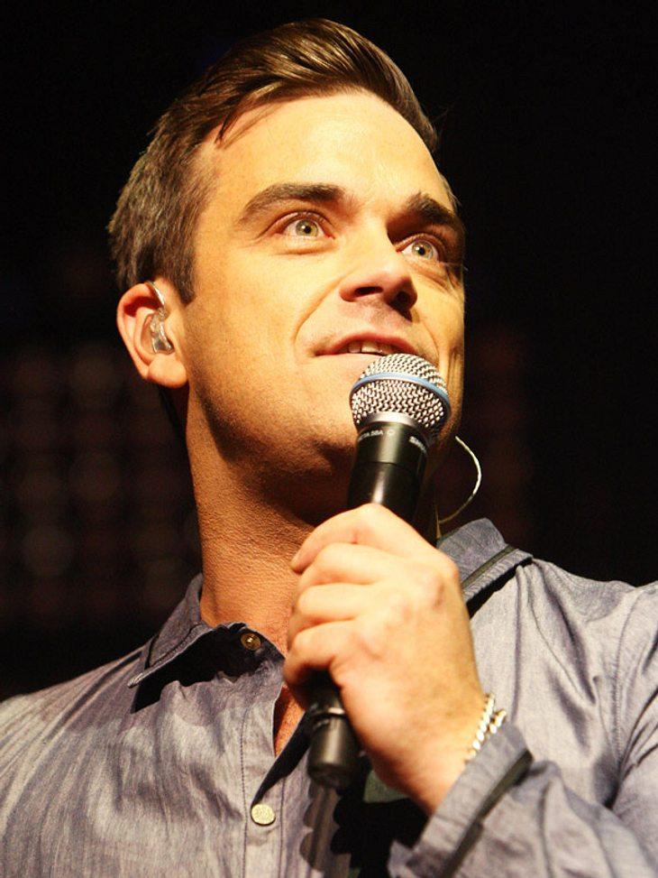Steht Robbie bald vor dem Traualtar?