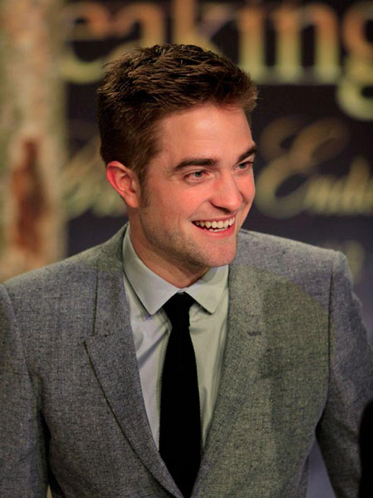Robert Pattinson schmiedet wieder fleißig Hochzeitspläne.
