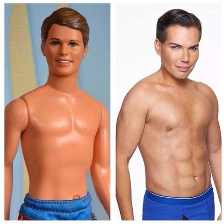 """Der echte und der """"echte"""" Ken"""