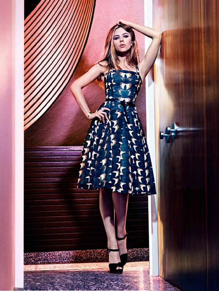Niemand hat so oft einen Deal mit Mango an Land gezogen wie Scarlett Johansson. Zum fünften Mal stand sie für das Label vor der Linse.