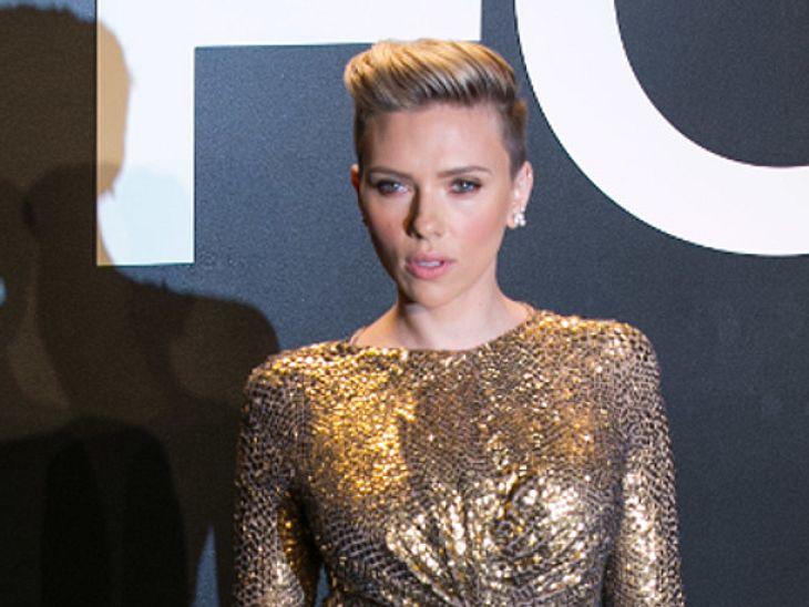 Scarlett Johansson ging bei ihren Dreharbeiten aufs Ganze