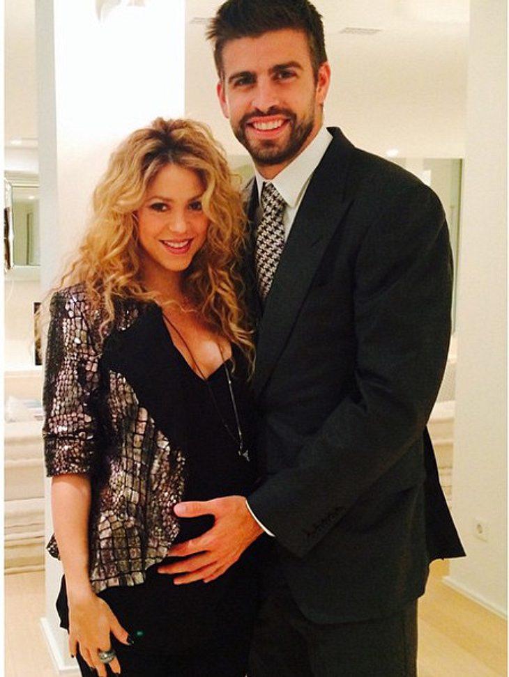 Shakira ist mega-stolz auf ihren Babybauch