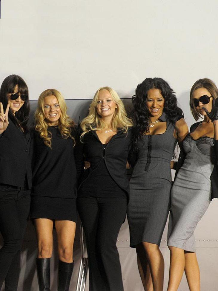 Zumindest an Weihnachten feiern die fünf Spice Girls ein Comeback
