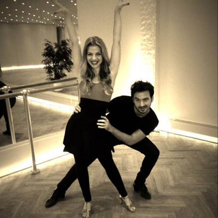 Let's Dance - Let's Christmas: Susan Sideropoulos übt schon fleißig!