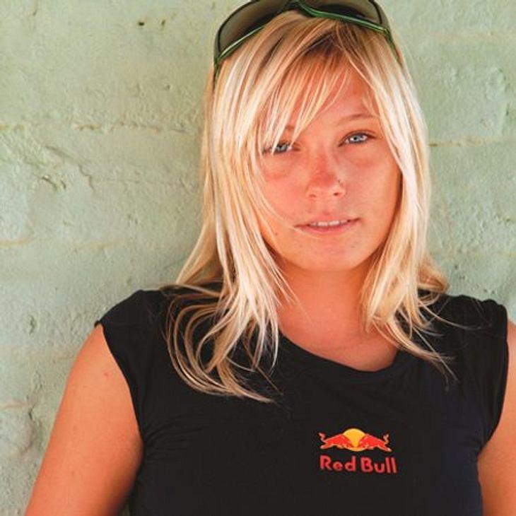 Susi Mai (29) ist eine ausgezeichnete Kitesurferin.