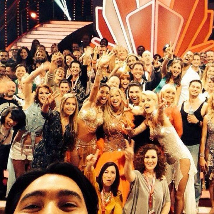 Sylvie Meis verabschiedet sich mit einem Massen-Selfie von der diesjährigen Let's Dance-Staffel