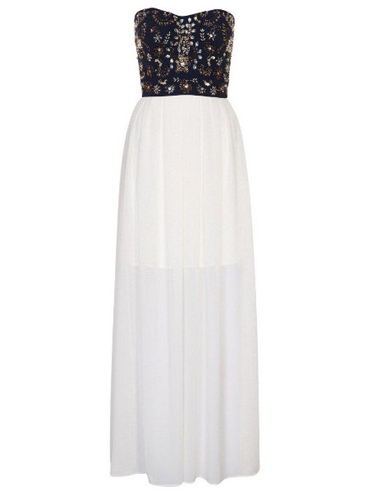 Kleid von TFNC, um 79,95 Euro.