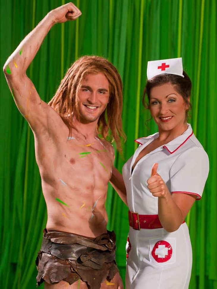 Nur eine Woche spielte Alex Klaws den neuen Tarzan, bis er sich eine Rippe brach und 3 Woche ausfiel - nun ist er wieder fit!