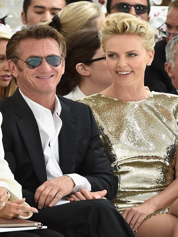 Frischverlobt! Charlize Theron und Sean Penn sind überglücklich