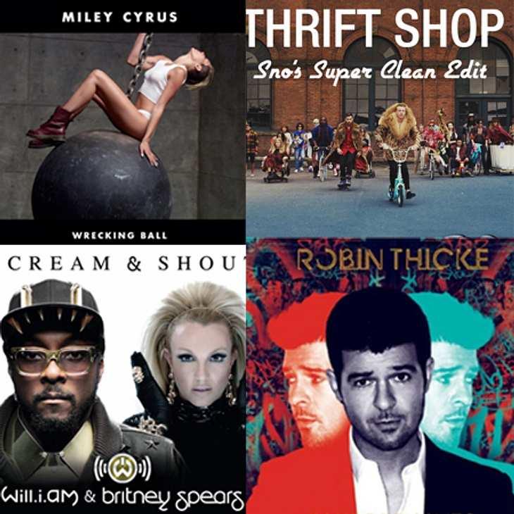 Die Top-Songs 2013 sind...