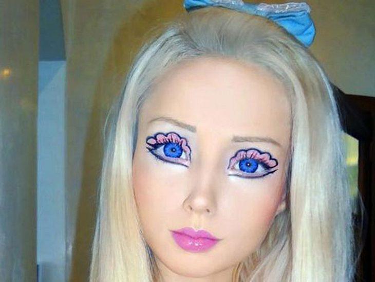 Real-Life Barbie zeigt ihr altes Gesicht.