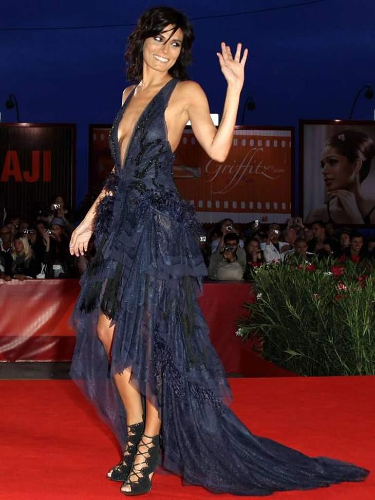 "Schauspielerin Valeria Solorino bei der Premiere von ""Vallanzasca - Gli Angeli del Male""."