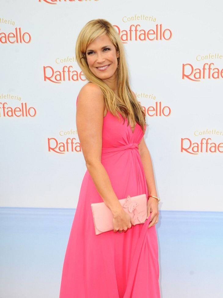 Verena Wriedt nahm in der Schwangerschaft 27 Kilo zu