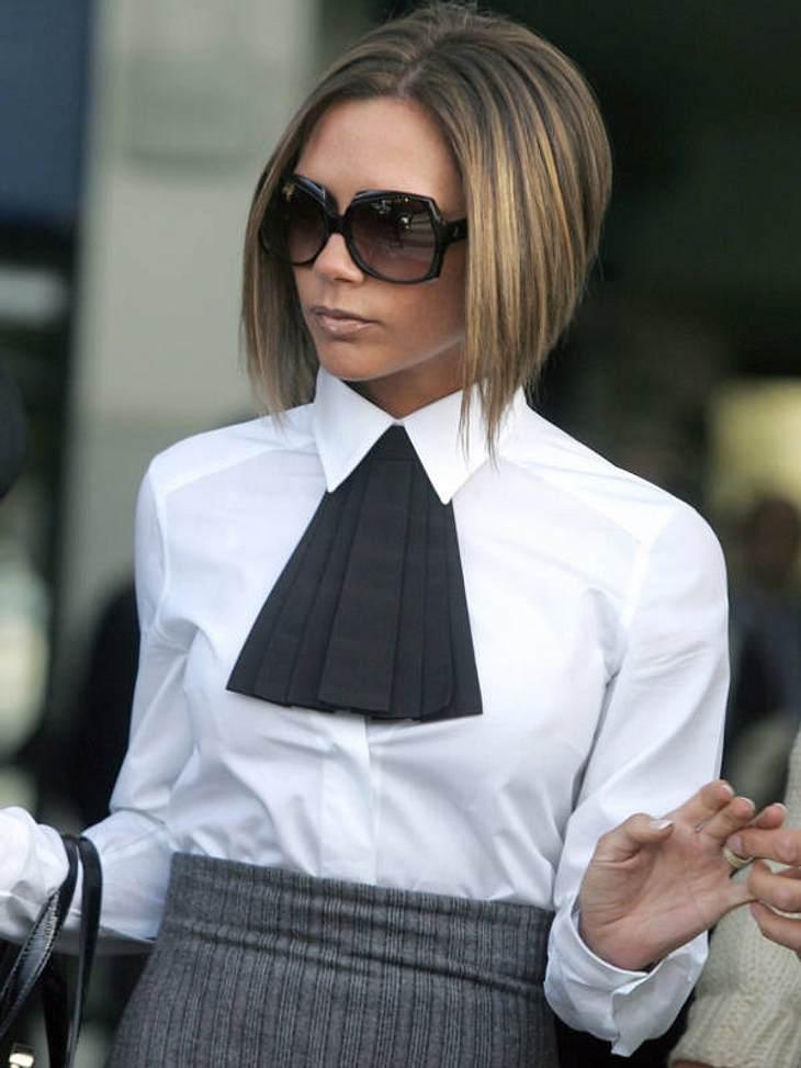 Victoria Beckham Das Frisuren Chamäleon Bild 4 Von 12