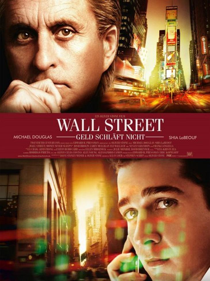 """Achtung, Film-Fortsetzung!2010 kam mit """"Wall Street - Geld schläft nicht"""" die Fortsetzung in die deutschen Kinos. Die Vorangegangene Finanzkrise in den USA lieferte die Grundlage für Spekulationen auf hohem Niveau. Doch die Rolle"""