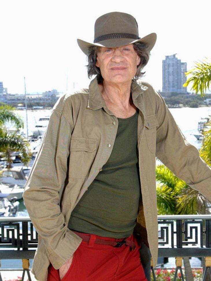 Winfried Glatzeder will im Dschungelcamp nur eine Rolle gespielt haben