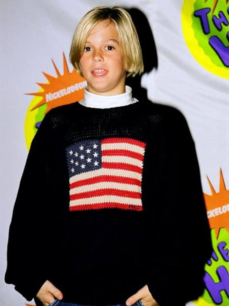 """Was wurde eigentlich aus den Kinderstars?Anfangs war Aaron Carter (24) vor allem als der kleine Bruder von """"Backstreet Boy"""" Nick Carter (32) bekannt. Allerdings legte der süße Blondschopf zwischen 1996 und 2000 eine respektable Ka"""