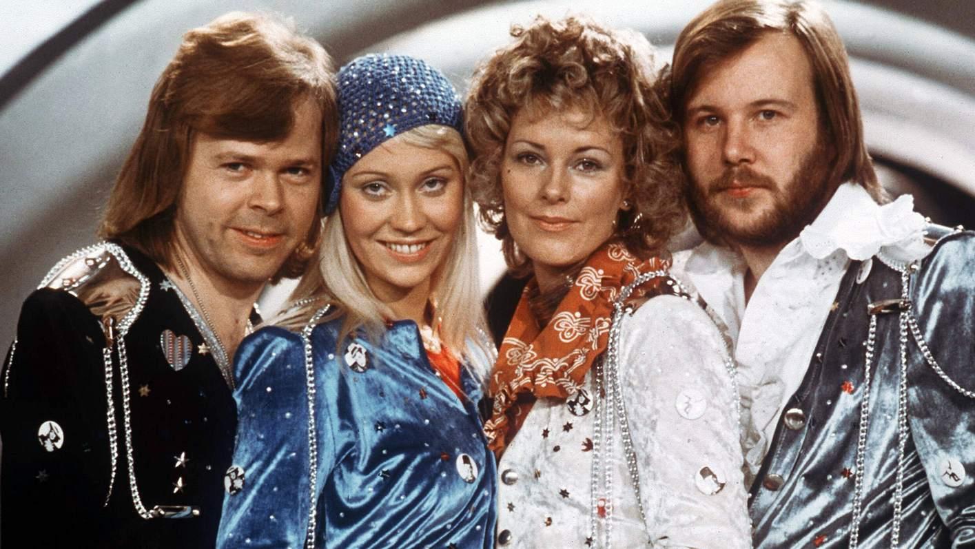 ABBA mit Björn, Agnetha, Anni-Frid und Benny