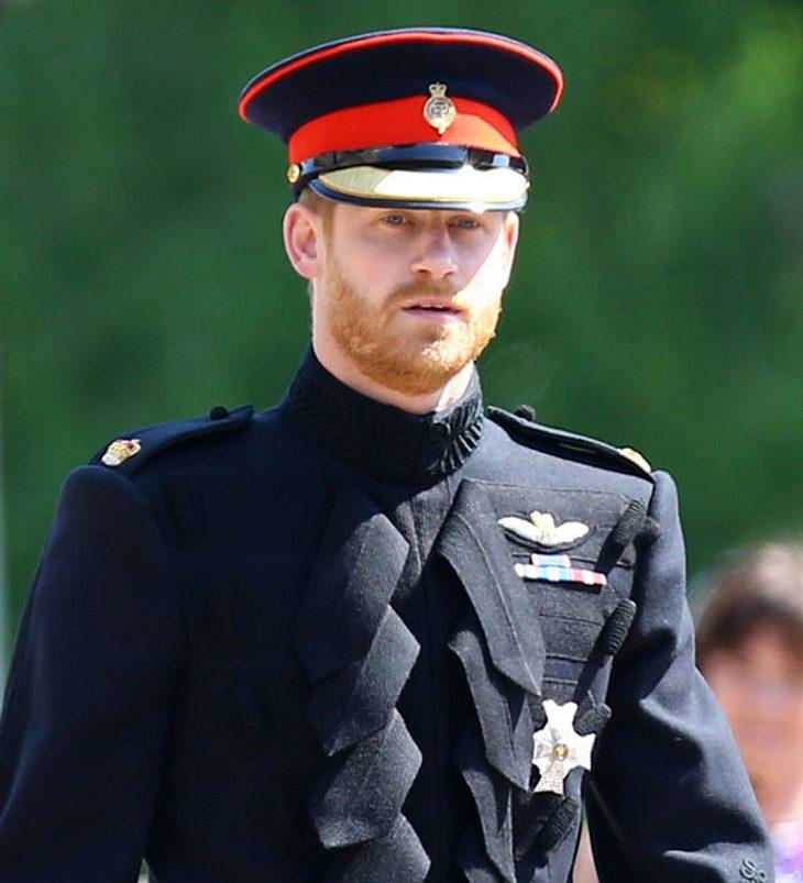 Prinz Harry: Tränenreicher Abschied!
