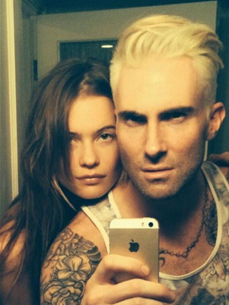 Adam Levine trägt jetzt Schock-Blond!