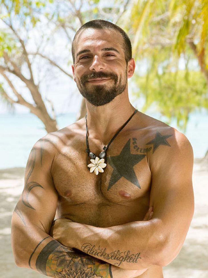 Wegen einem Tattoo hat Gaetano nun mächtig viel Ärger.