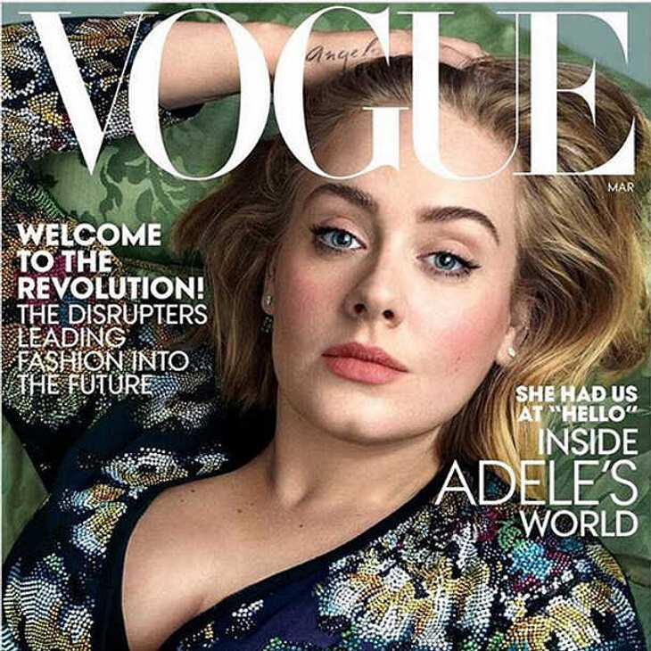 Adele Cover Vogue