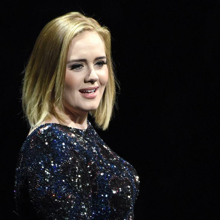 Adele schämte sich in Grund und Boden