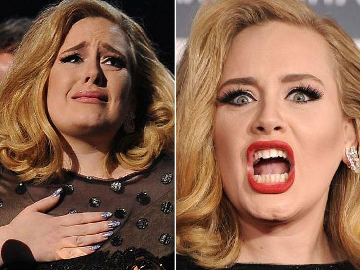 F**k you! - So fluchen die StarsSie singt über Herzschmerz, verletzte Gefühle und zerbrochene Träume - im Alltag aber flucht Adele (24), was das Zeug hält. Und das sogar, wenn sie gar nicht sprechen darf. Nach ihrer Stimmbandoperation musst