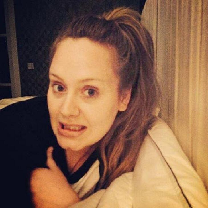 Adele zeigt sich ungeschminkt
