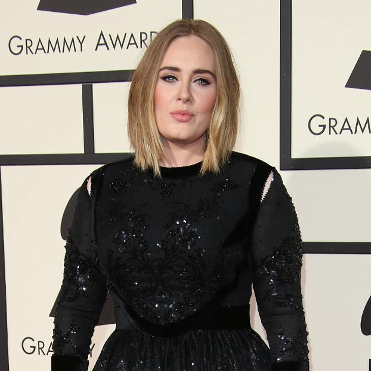 Adele wäre am liebsten im Boden versunken