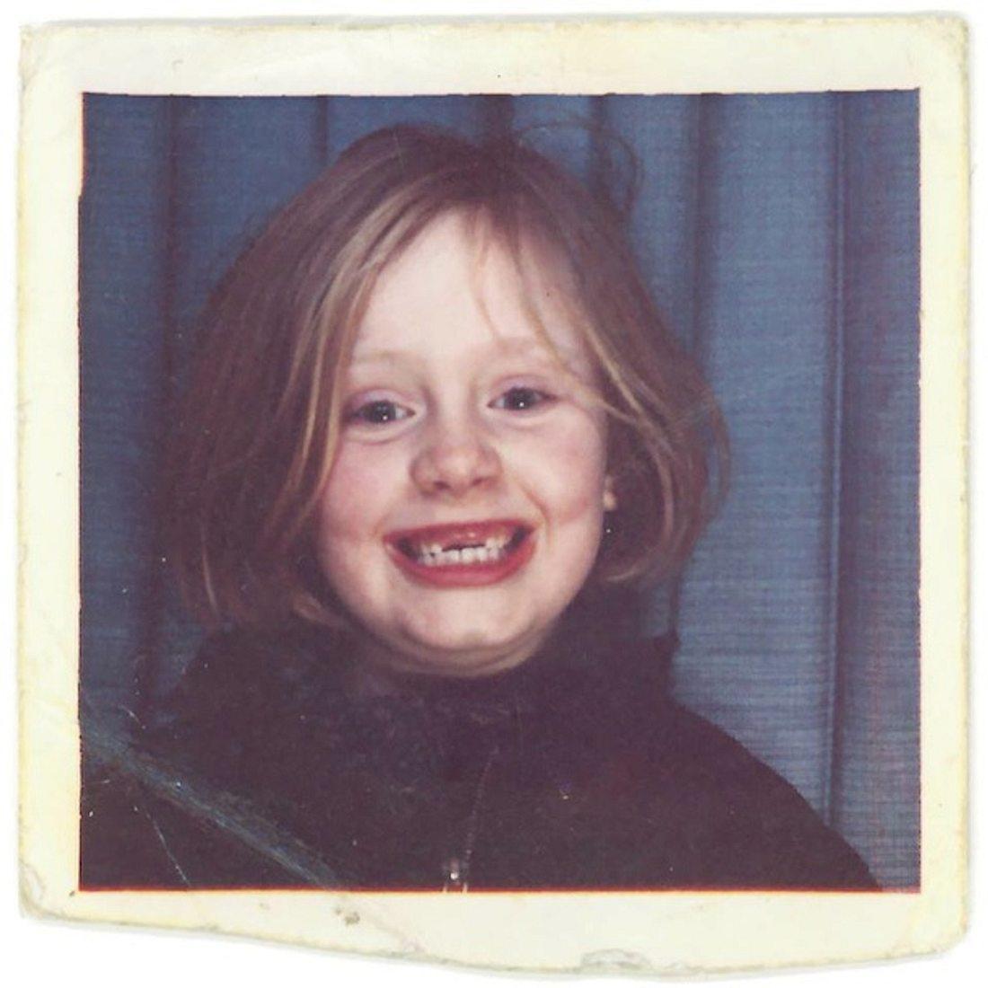 Süße Grinsebacke: So sah Adele als Kind aus