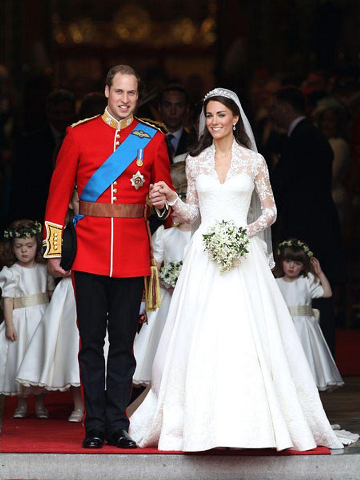 Die Hochzeitstorte von Prinz William und Kate ist heute noch begehrt